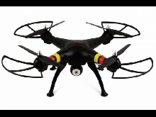 BLACK Quadcopter DRONE SYMA X8W FPV 2.4GHz 4CH 6Axis Gyro RC CAMERA HD WIFI