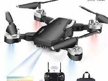 Mini Drone1080P HD 4K Pixels WiFi-FPV  20 Minutes De Vol 360°Maintien altitude