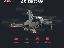 CSJ-X8 Brushless Drone with Camera 4K Drone 5G WIFI GPS MV Interface C0A4