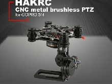 HAKRC 3-Axis Brushless PTZ Control Panel Gimbal for Drone Gopro3/4 DJI PhantoYx