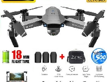 SG907 GPS Drone with 5G Wifi FPV 4K HD Camera RC Quadcopter 3 Batteries + Bag FR