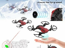 Mini Foldable Drone With Camera RC Quadcopter Toy Remote Control Drone