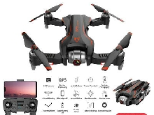 S20 RC Drone With Camera 4K GPS APP Follow Mode Foldable Quadcopter Drone O8F6