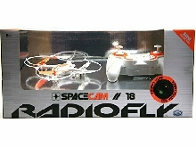 ODS 37966 - RADIOFLY Space Cam//18?: Drone radio commandé, 8 fonctions Co