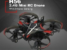 JJR/C H56 2.4G Mini Drone RC Infrared Sensing Altitude Hold 3D Flip for Kids~@