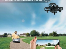 Drone Caméra Potensic Mini Avion Télécommande Wifi Suspension Altitude