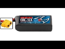 BATTERIE RACING DRONE LIPO 4S-1600-14.8V-75C (L75XW36XH