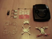 Drone Hubsan x4 H107D FPV edition Xtrem