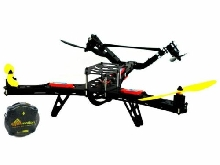 Kit Drone Hunter VTail 500 Lynxmotion (Combo de Base + Controleur Quadrino Nano