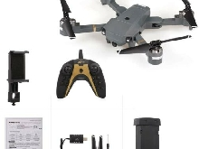 X-Pack Plus Drone WiFi FPV 1080P Wide-Angle Camera Gesture Photo Control Altitud