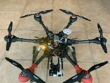 Drone Arris M700 Hexa copter carbone, repliable état neuf DJI A2 OSD Mark II