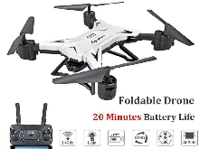 RC Drone Wifi avec Camera 4k HD 5MP WiFi Pliable FPV Quadcopter Aircraft