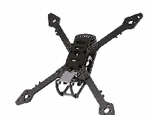 Hootracker 250mm FPV Racing Drone Frame with 4mm Arms, True X Freestyl Carbon