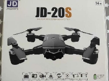 Drone JINGDATOYS JD-20S Wifi FPV pliable caméra 2MP HD 18 minutes de vol