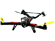 Drone Hunter VTail 500 Lynxmotion (Kit T-Motor)