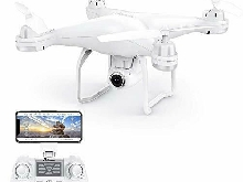 Drone GPS T25 FPV Helicoptere Caméra Grand Angle Reglable HD 1080P Telécommande