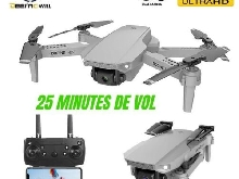 Fpv Drone With Camera Freestyle HD RTF 720p Gps Rc Wifi Eachine with 3 batteries