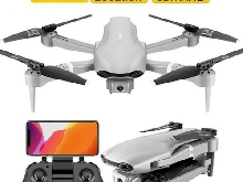 Drone GPS WiFi Video FPV Quadrotor Flight 6000mAh Distance 2000m Double Camera