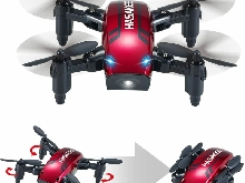 Pliable Mini Drone avec Mode de Maintien en Altitude 2.4Ghz 6 Axes Gyroscope...
