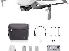Dji Mini 2 Fly More Combo - Ultraléger Et Pliable Drone Quadcopter, 3 Axes Gimb