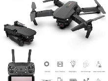 E 88 Pro - Drone Double Camera 4K 1080p HD WiFi 3 Batteries Pack Quadrirotor FPV