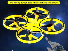 Mini Drone Quad Induction Levitation UFO Flying Toy Hand-controlled Kids Gift SH