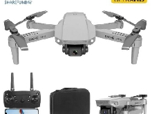 SHAREFUNBAY ? Drone E 88 avec camera 4K HD grand angle, connexion WiFi 1080 p