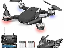 0BEST Drone avec Camera 1080P, 4K Pixels, Quadrotor de Vol Portable de 20-24 Min