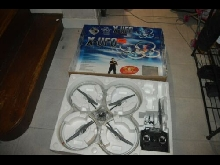 AR DRONE X-UFO QUADRICOPTERE RC FLYING TOY  SILVERLIT