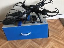 Drone R?Bird Black Master DMS240 + GoPro Hero+