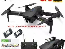EACHINE E520S Drone avec Camera 4k HD GPS WiFi 2 Batteries + Carte SD 32 Go
