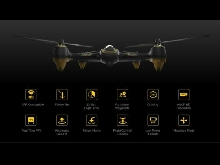 Drone Hubsan H501A X4 AirPro + additional battery/batterie supplémentaire
