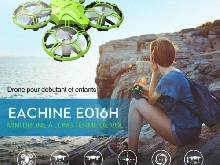 Eachine ? Mini Drone E016H 2.4 RTF RC, Mode Altitude sans tête