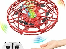 Baztoy Drone Enfant à la Main Mini UFO Fly Spinner 2,4GHz RC Hélicoptère Avion
