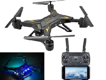 KY601S Drone Pliable RC 4K FPV HD Caméra Wifi FPV Drone Selfie RC Hélicoptère