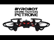 Drone Petrone Fighter Bluetooth 4.0 - Noir