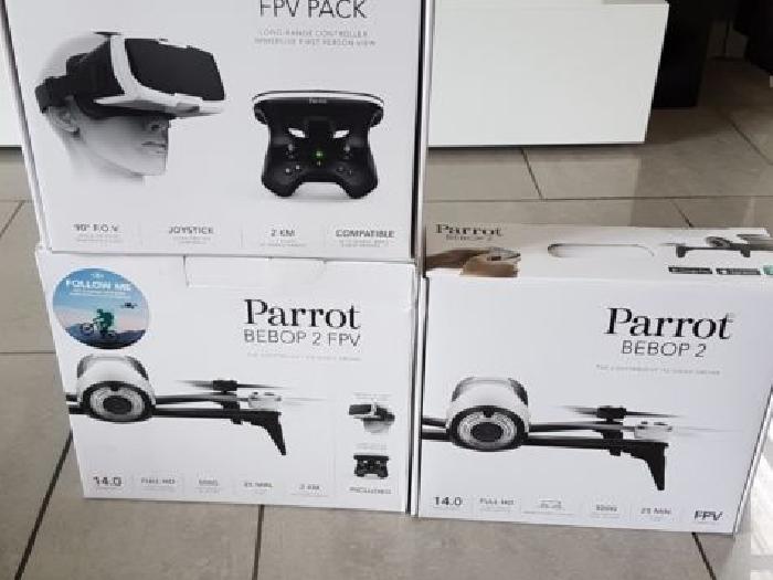 dr ne parrot bebop 2 blanc skycontroller 2 cockpit. Black Bedroom Furniture Sets. Home Design Ideas