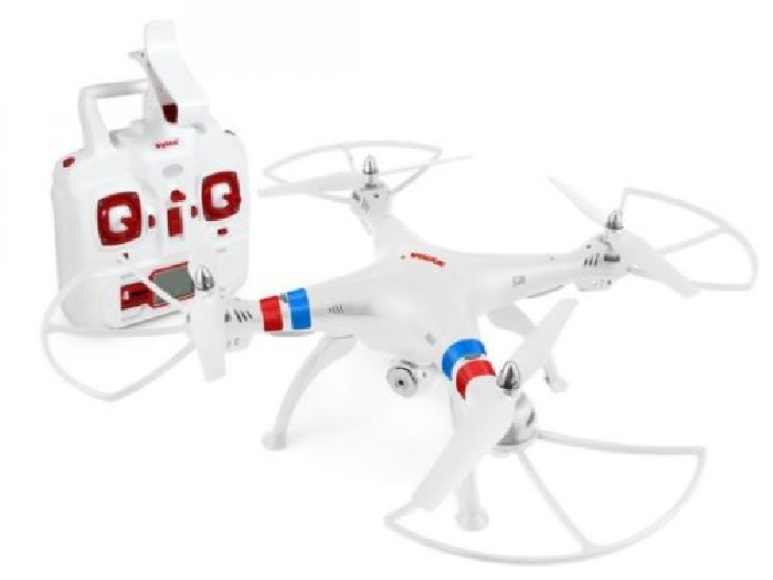 WHITE Quadcopter DRONE SYMA X8W FPV 2.4GHz 4CH 6Axis Gyro RC CAMERA HD WIFI
