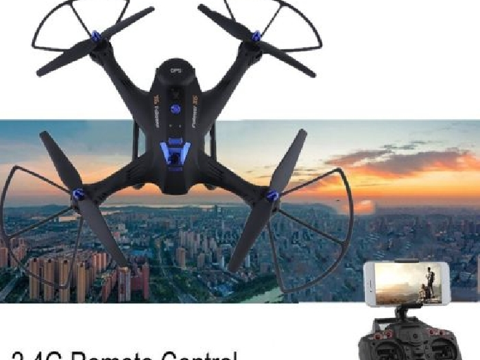 GPS 6-Axles RC Quadcopter Drone Wifi 2.4GHz con 2MP Telecamera ControlloBE