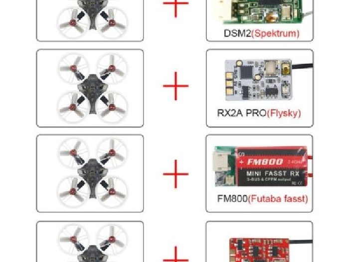 LDARC ET125 V2 5.8G Brushless OSD DSM2 Receiver Mini FPV RC Racing Drone PNP