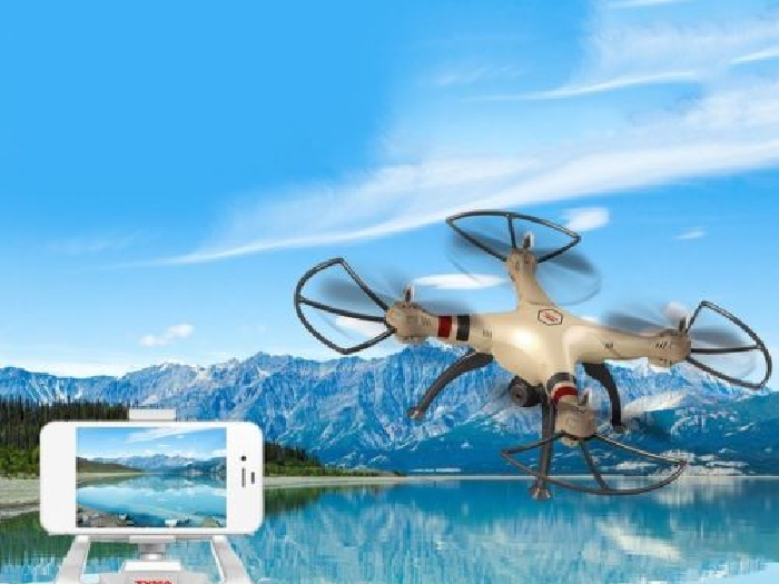 Drone with WiFi HD Camera  Helicopter Quadcopter Dron with Hovering Function