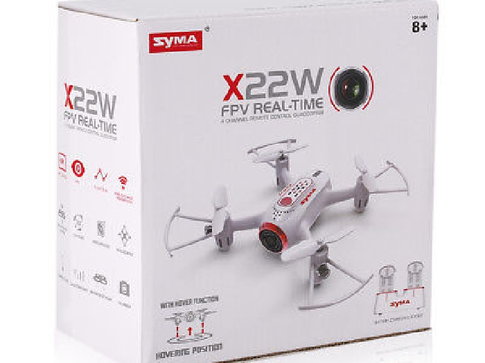 Syma X22W Wi-Fi FPV 0.3MP Camera Selfie RC Drone 2.4G 4CH 6-Axis Mini I6M7