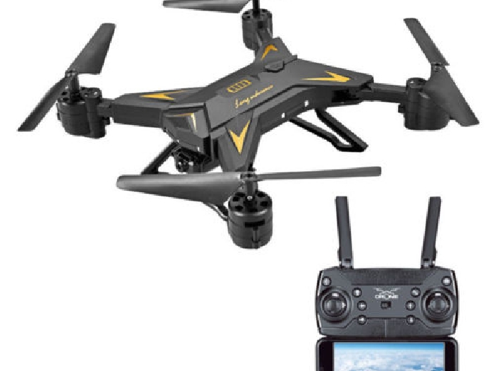Drone FPV WIFI Caméra 1080P Full HD compact pliable  ? Vol 60 min (Full Options)