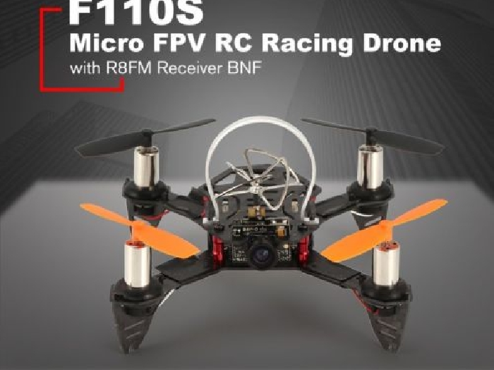 Radiolink F110S 200mW 40CH FPV Micro Racing Drone with R8FM Receiver BNF RCT