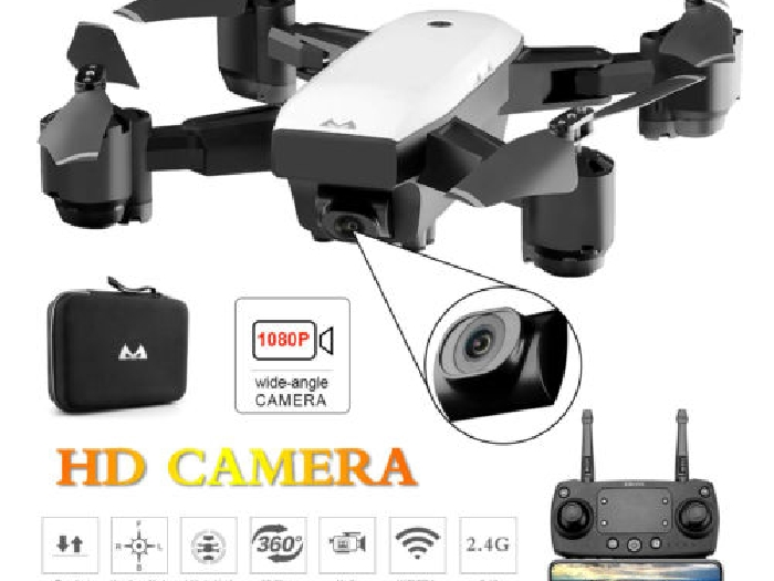 Mini Wifi Drone With 1080P HD Camera SMRC S20 2.4G Altitude Hold RC Quadcopter X