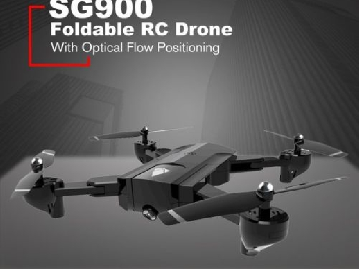 SG900 Foldable Quadcopter 720P Drone FPV Optical Flow Positioning RC Dr FR