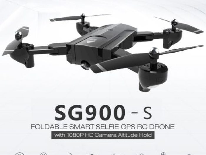 SG900-S RC Foldable Smart Selfie GPS Drone 1080P HD Camera Altitude Hold PT