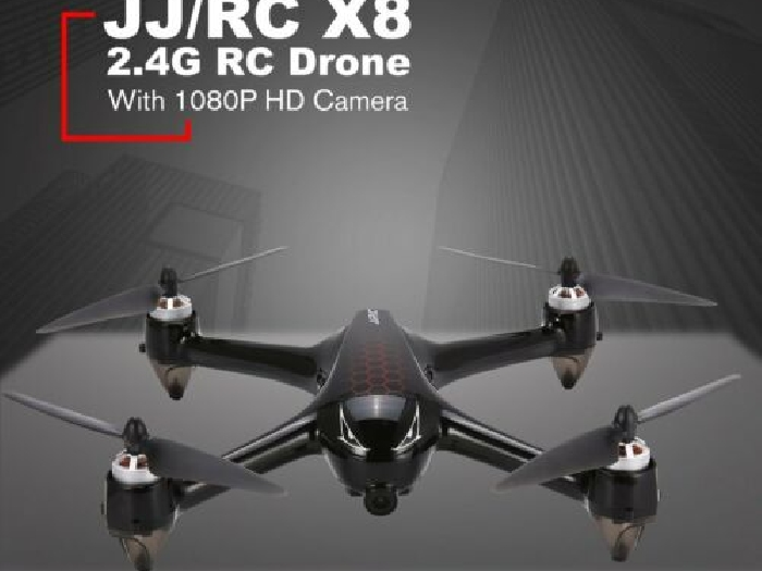 JJR/C X8 2.4G Brushless Motor RC Drone With 5G WiFi FPV 1080P HD Camera GPS DE