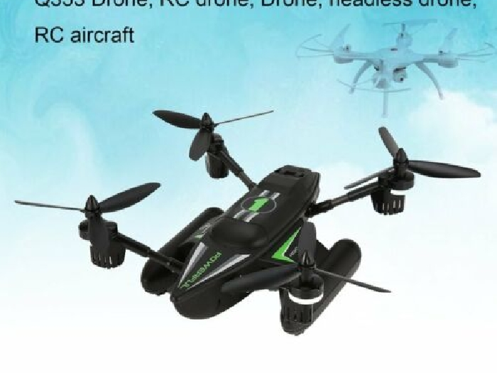 WLtoys Q353 3 in 1 Waterproof RC Quadcopter 2.4G Drone with Air Land Sea Mode P#