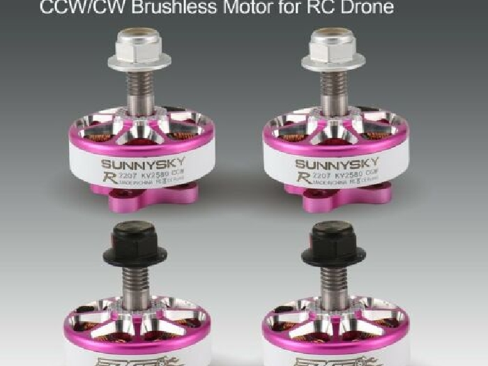 SUNNYSKY E-R2207 3-4S 2580KV Lightweight CCW/CW Brushless Motor for RC Drone R1